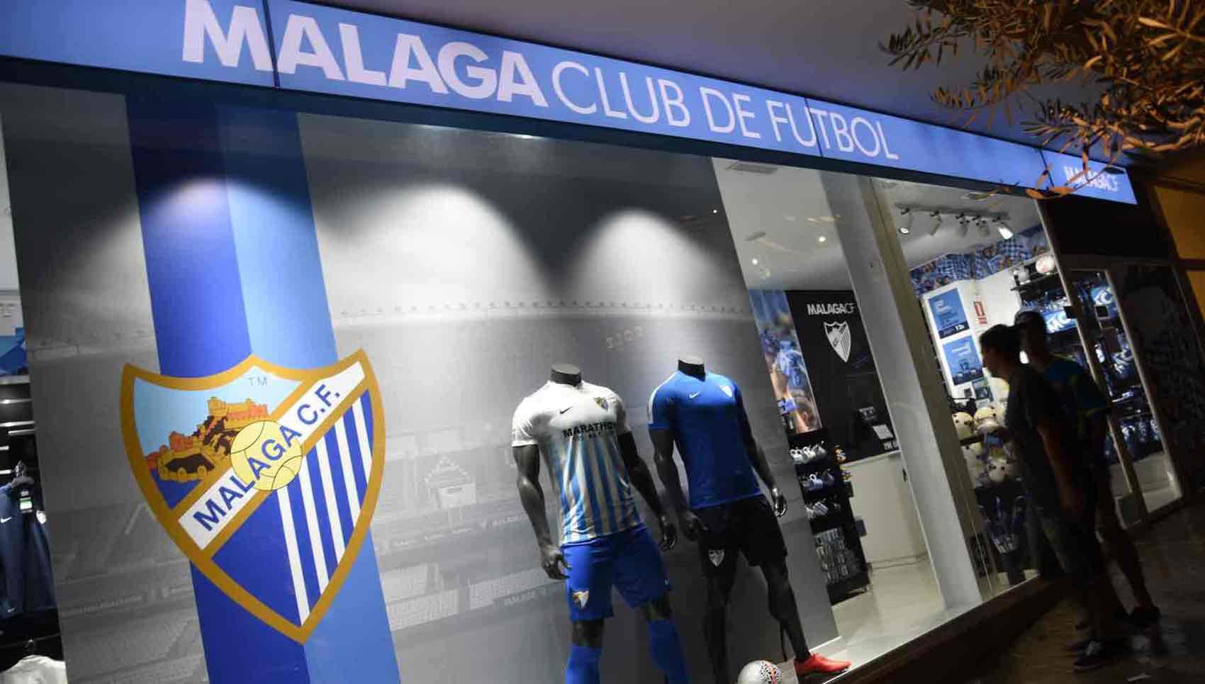 Local heroes: Hopefully Malaga FC soon will return to La Liga in Spain