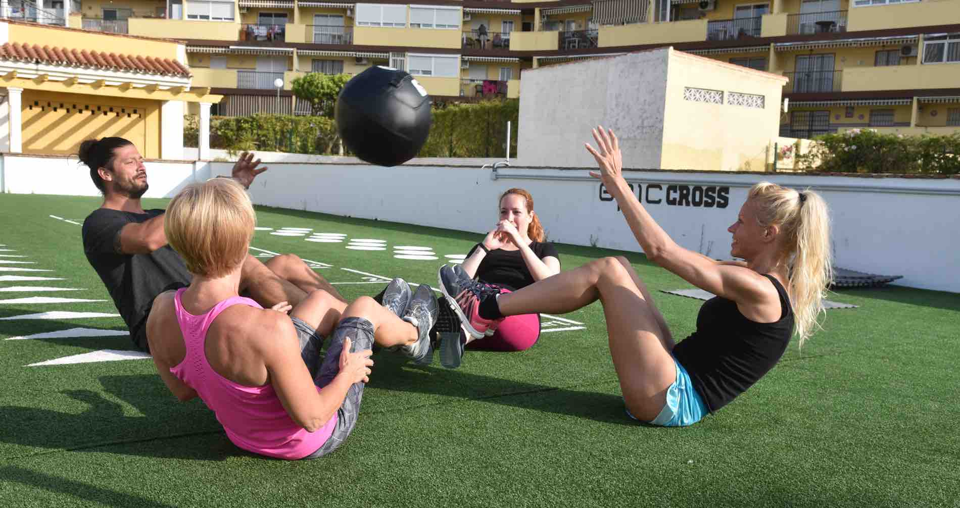 Epic Cross: Outdoor training at Epic Gym in Benalmadena