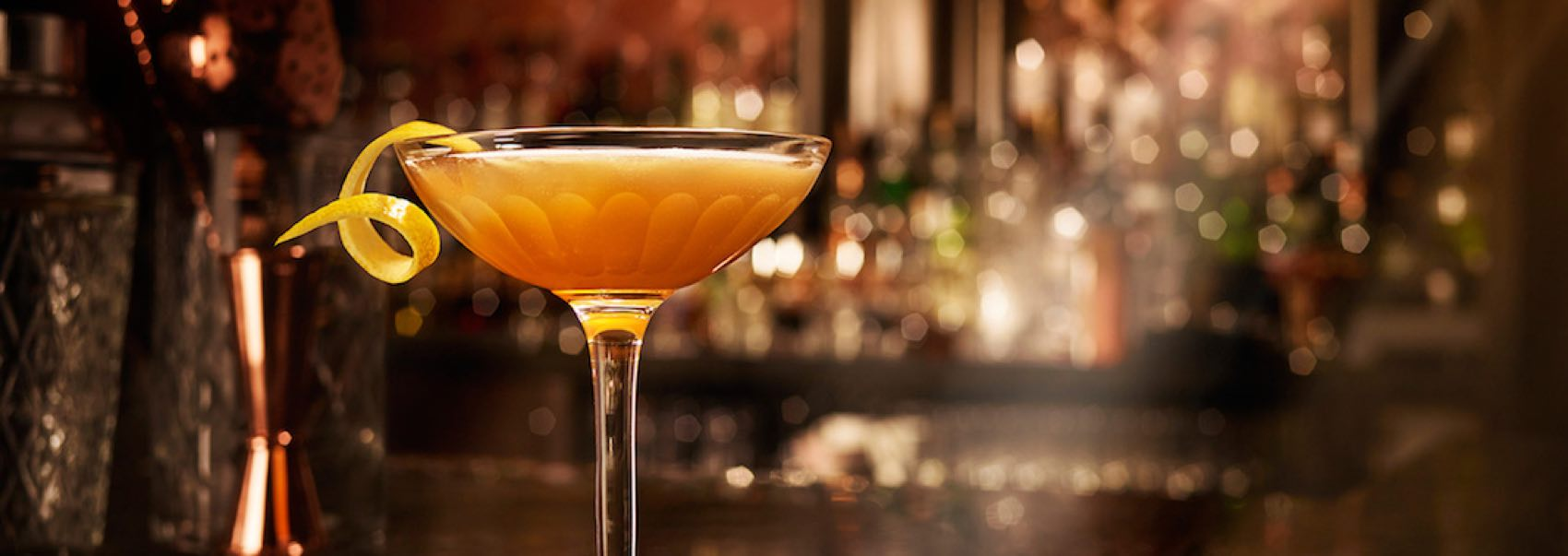 Sidecar: This sweet, shining cocktail was born in Paris