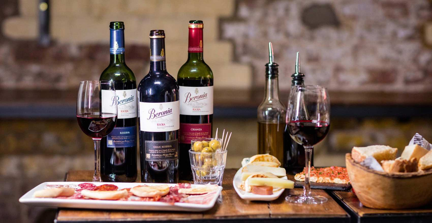 Wine from Rioja, the most important wine-region in Spain