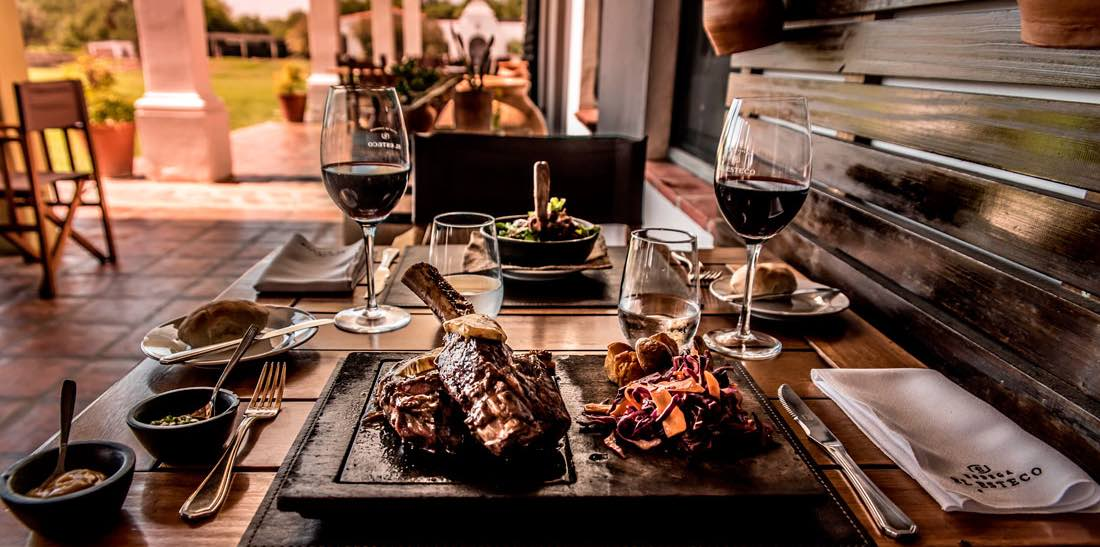 Plenty of restaurants in Salta. This meat is served at Cafayate