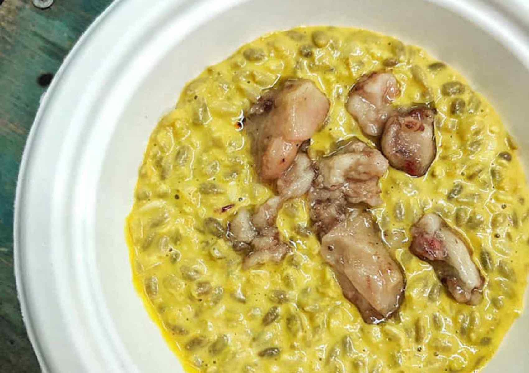 REAL TASTE: Chef Massimo Minutelli and his staff at restaurant La Griglia di Varrone in Lucca.