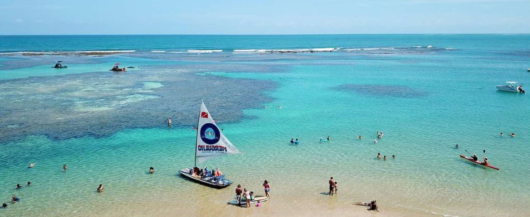 One of many beaches in Galinhas