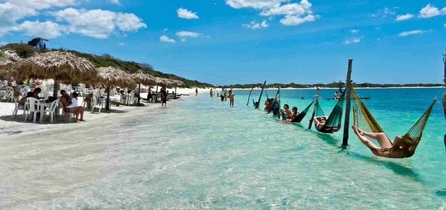 The relaxed style in Jericoacoara, Brazil