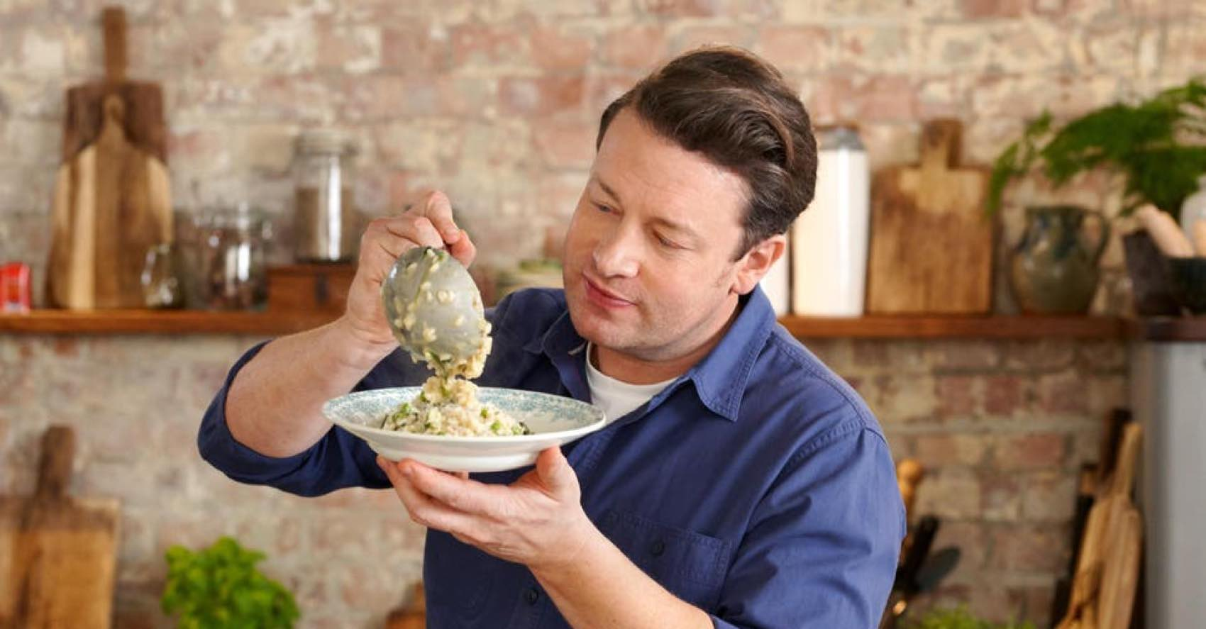 MY WAY: Read on and click for the best risotto made of chef Jamie Oliver