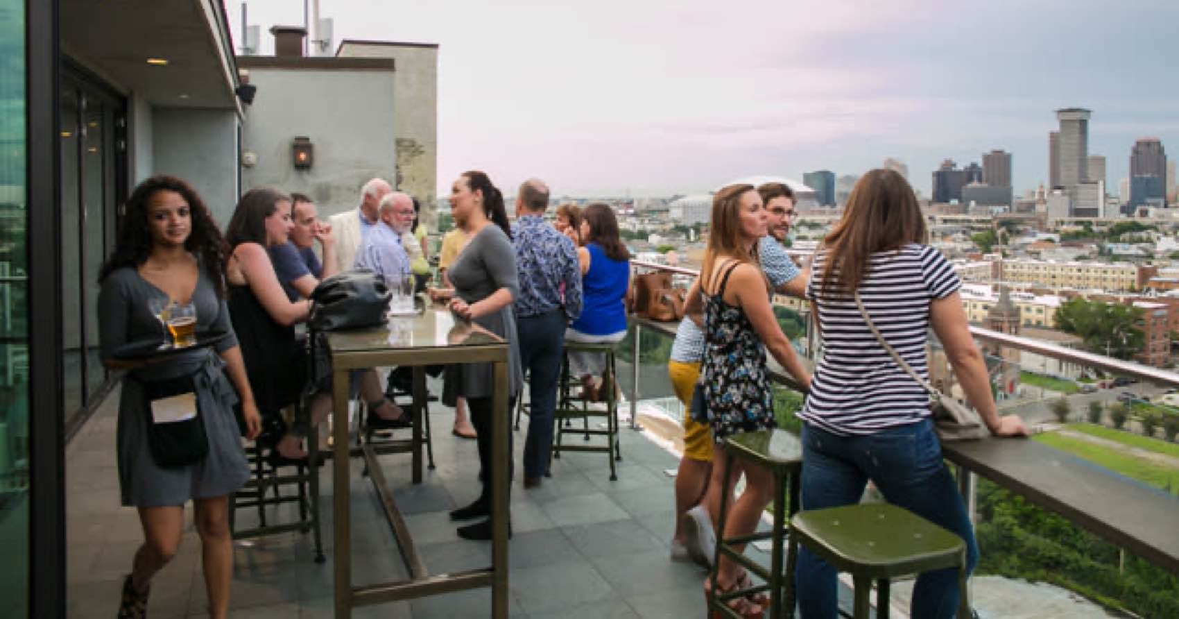 The great view from Hot Tin Rooftop Bar