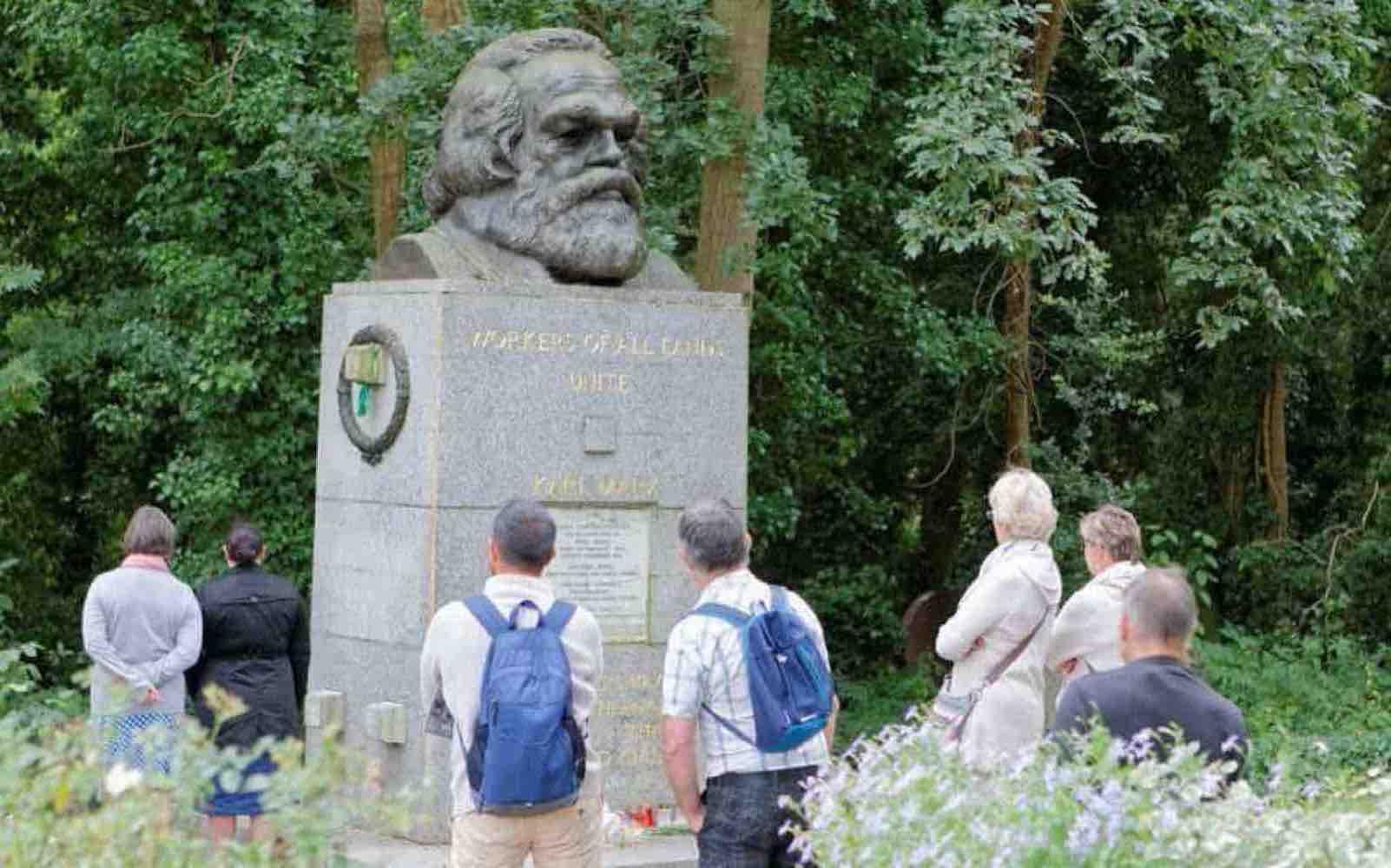 Highgate Cemetery and Karl Marx
