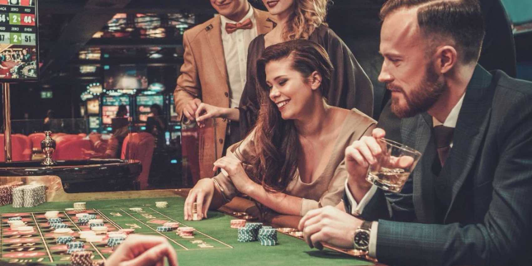 Gambling City: Casino and roulette at Luxor Hotel. And more than 160 casinos