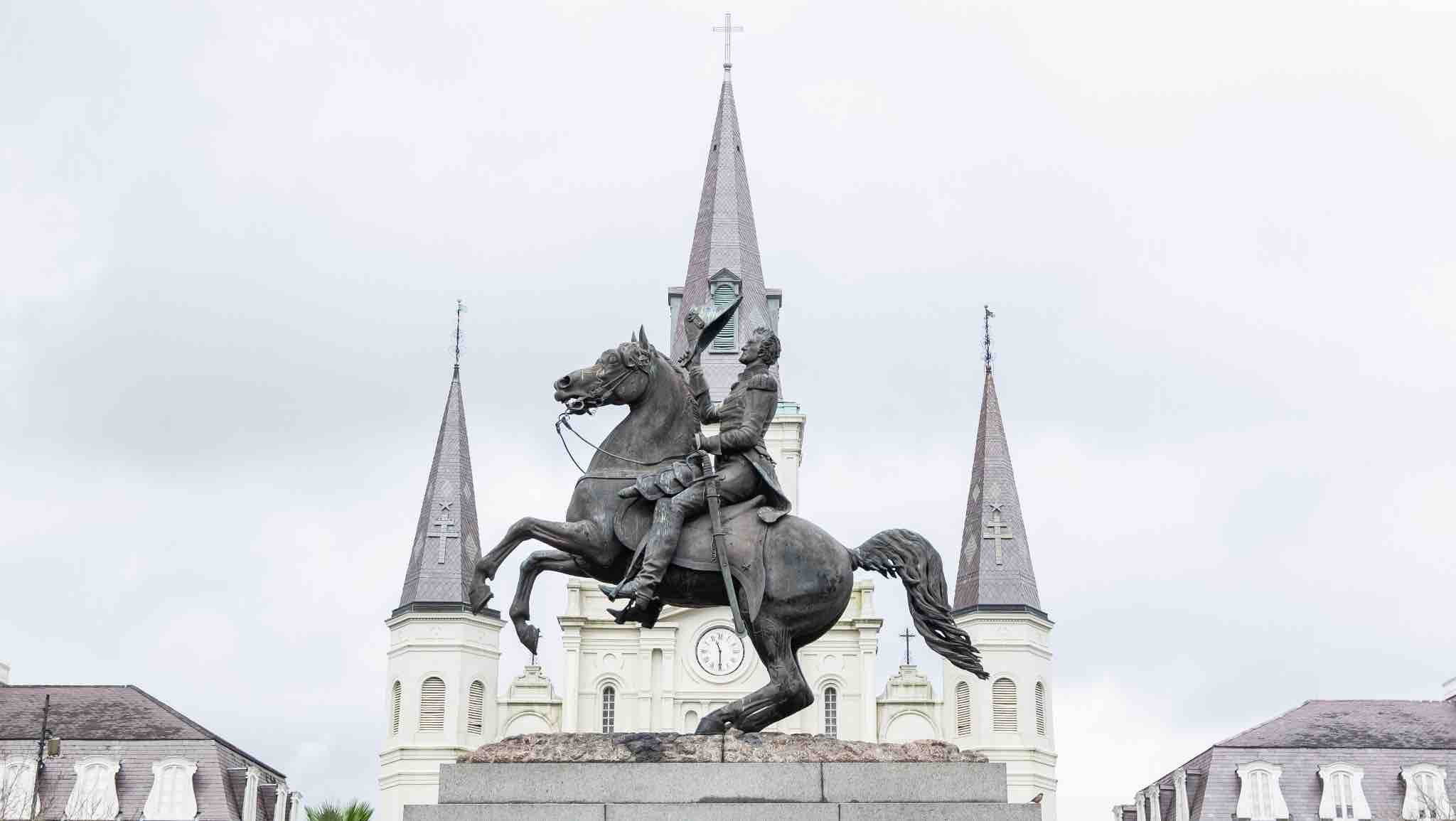 St. Louis Cathedral – historic Catholic cathedral in the heart of Jackson Square