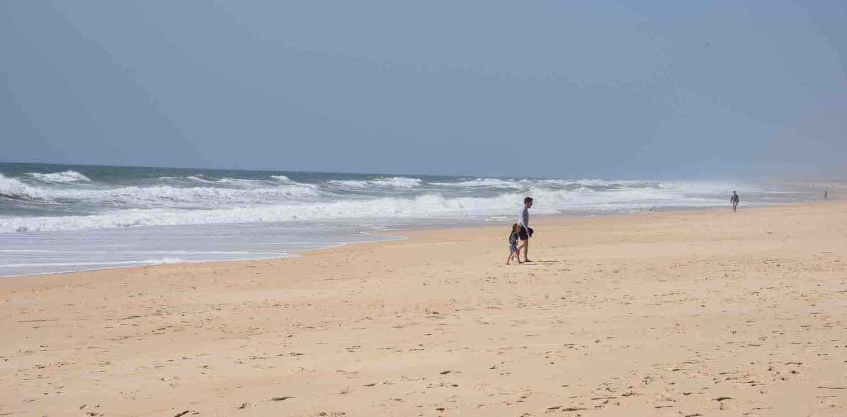 Beach on the island: Ilha de Tavira, probably the best in Algarve area.