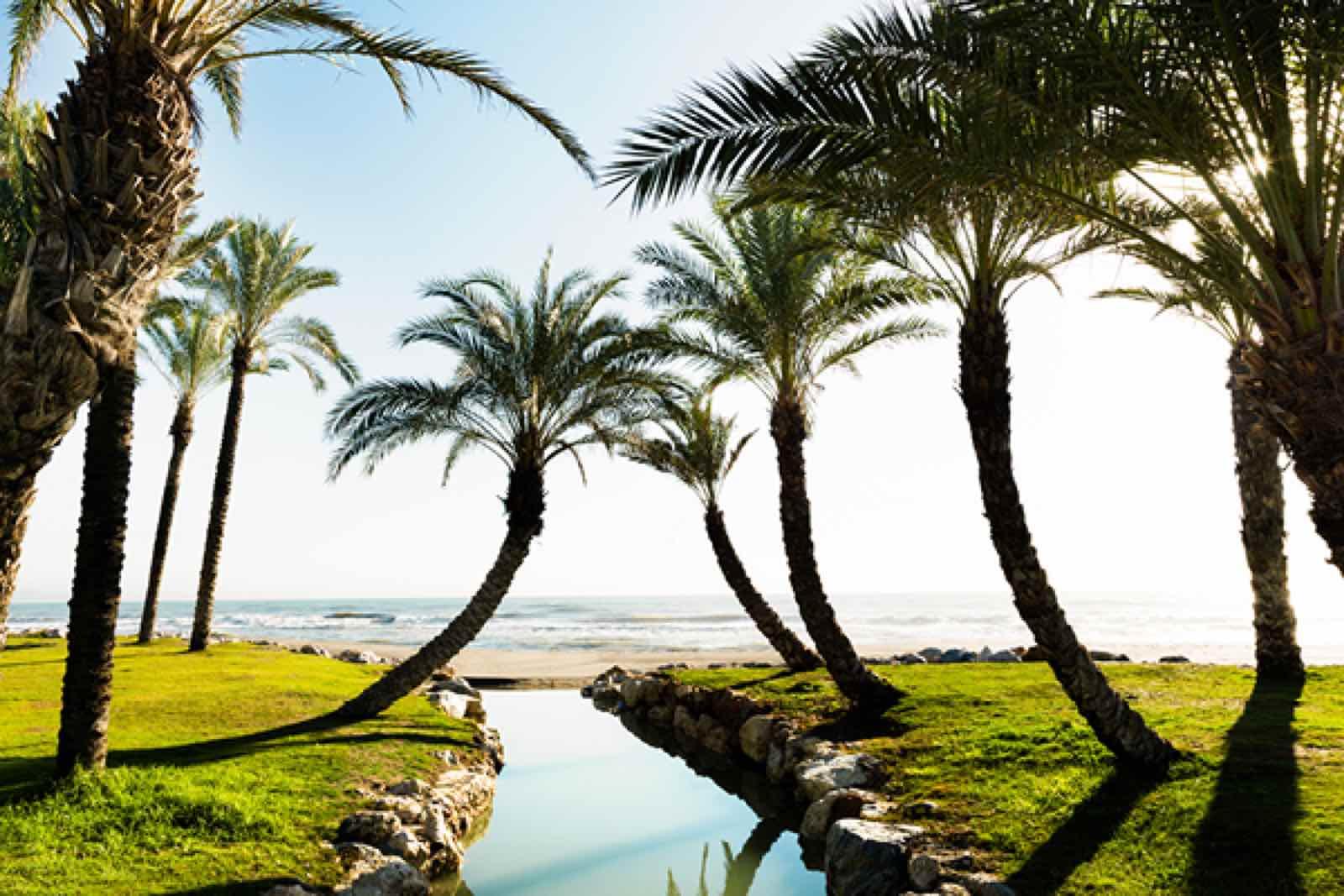 Seaside of Torremolinos