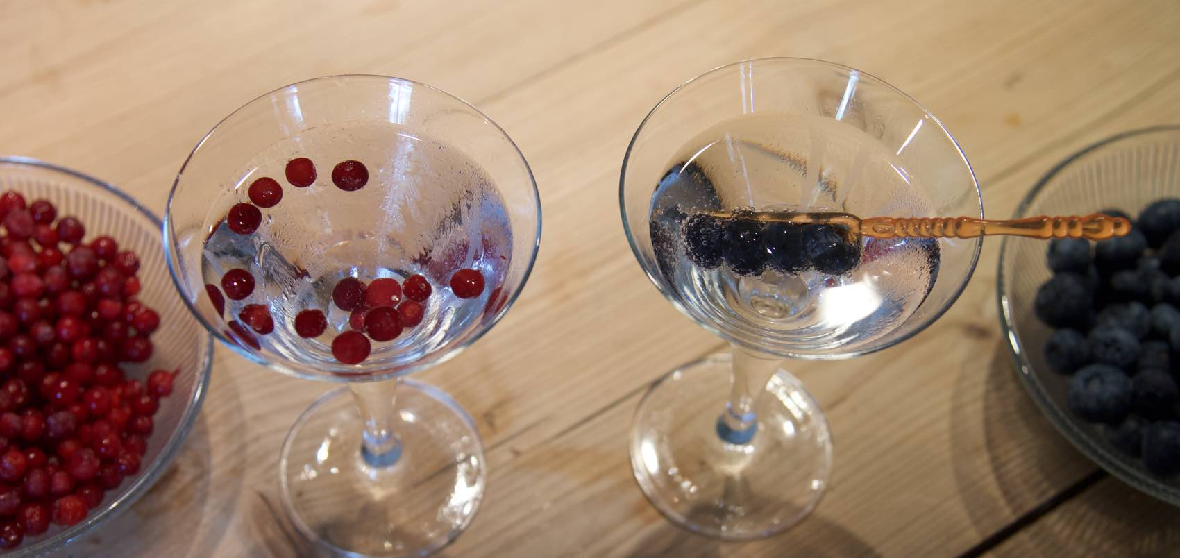 Arctic Martini - as served in the arctic area of Norway.