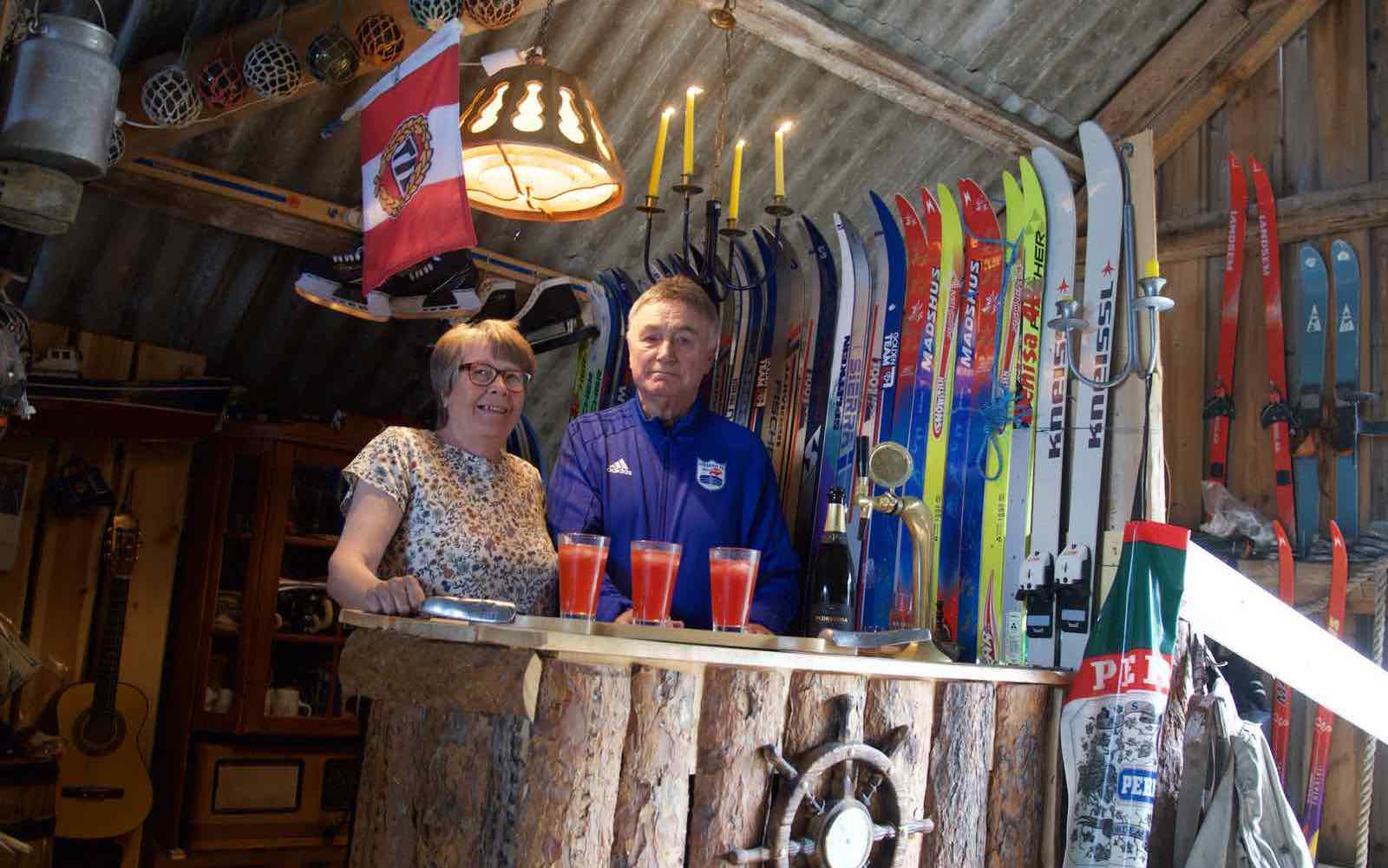 TJA SPORTSBAR is the most northern sportsbar in Europe, hosted by Ruth and Ole Kristian