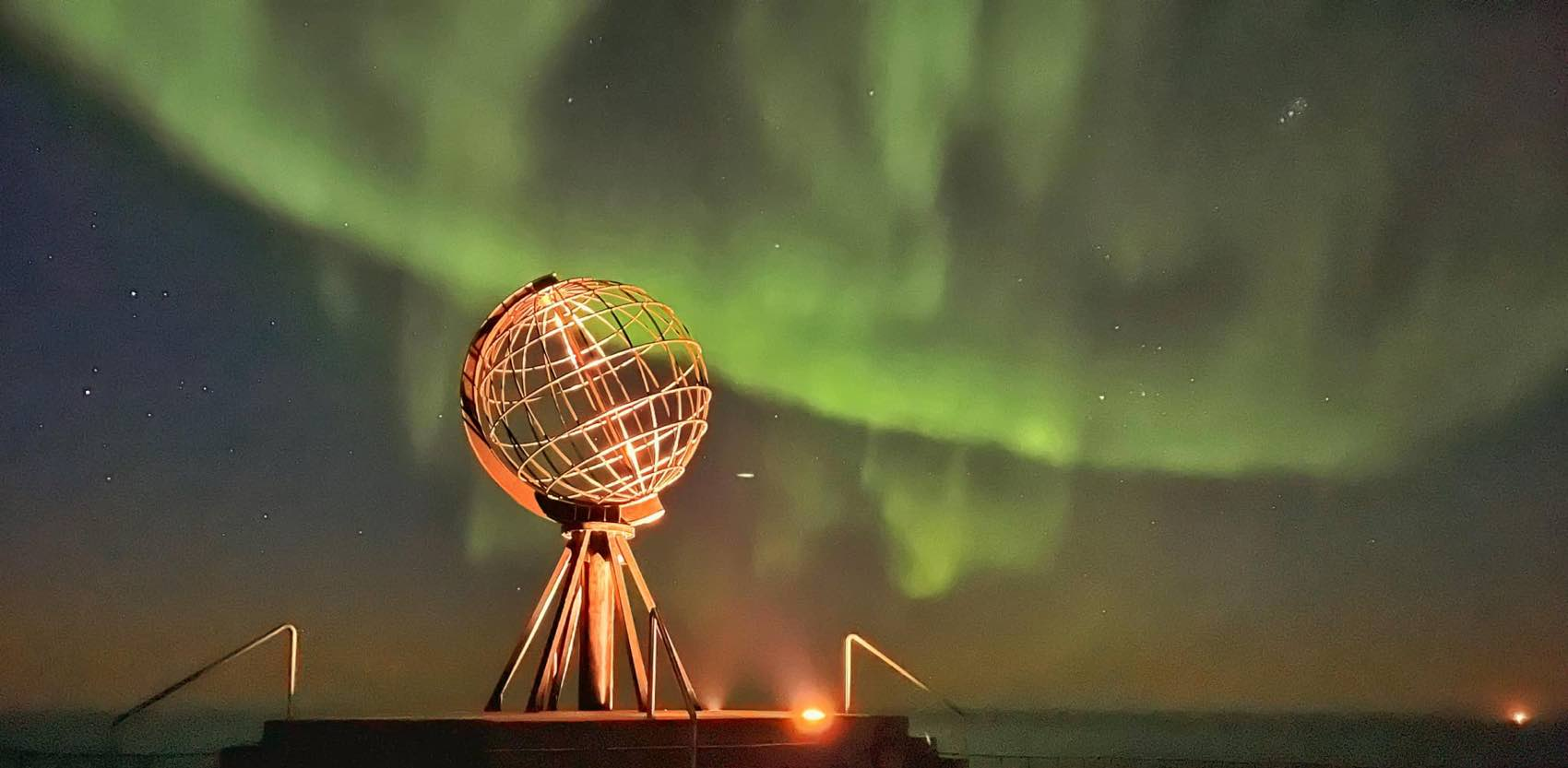 Plenty of Northern Lights over North Cape in September 2021. Picture by Hilde Fagerhaug