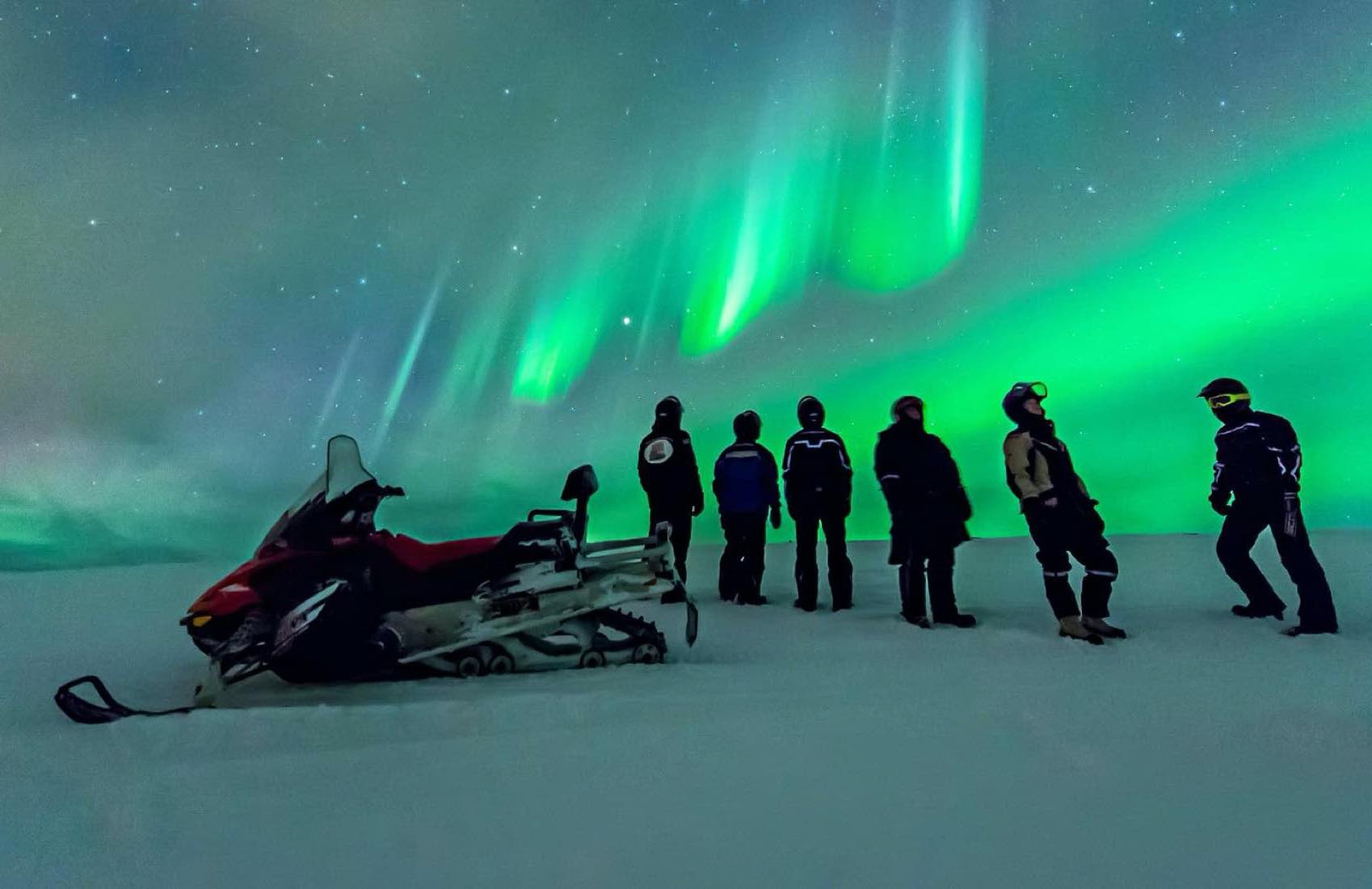 NIGHT SHOW: From September to March you can watch the Norther Lights dancing on the sky over the arctic area of Finnmark in Norway.